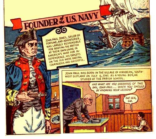 John Paul Jones Comic