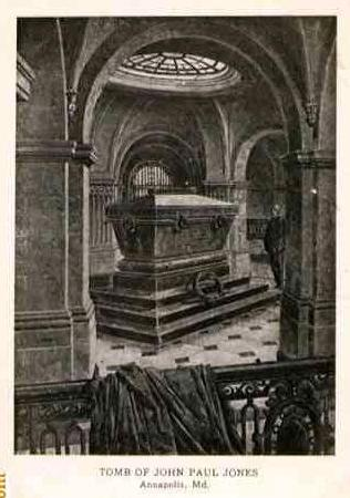 Paul Jones Crypt