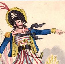 John Paul Jones as pirate