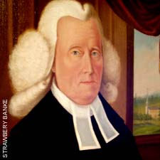 Rev Samuel Haven portrait (c) Strawbery Banke Museum on SeacoastNh.com