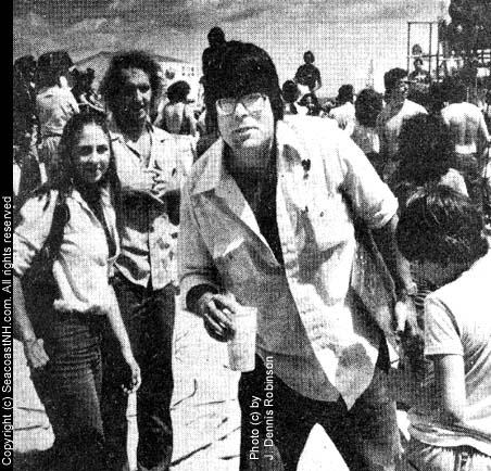 STephen King in 1980 (c) J. Dennis Robinson / SeacoastNH.com