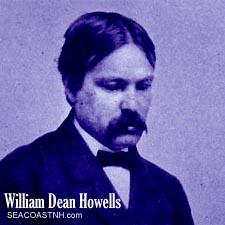 A young William Dean Howells before his days in Kittery Point Maine / SeacoastNH.com