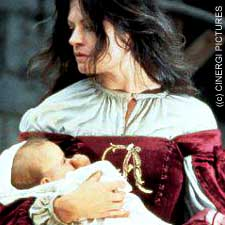 Demi Moore as Hester Prynne in The Scarlet Letter © copyright 1995 - Cinergi Pictures Entertainment, Inc.