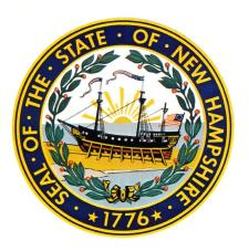 Raleigh on NH State Seal