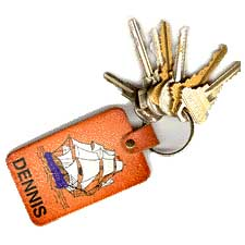 Ironsides keychain / SeacoastNH.com