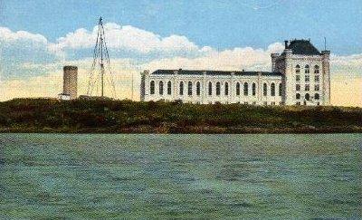 Portsmouth Naval Prison postcard / SeacoastNH.com
