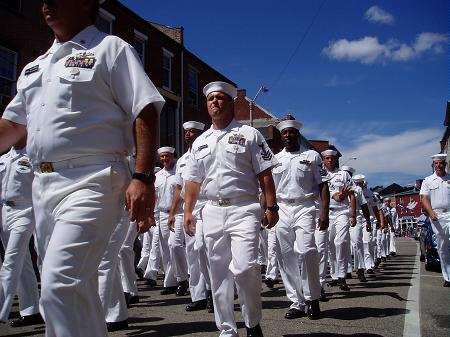 Sailors back in Portsmouth streets / SeacoastNH.com
