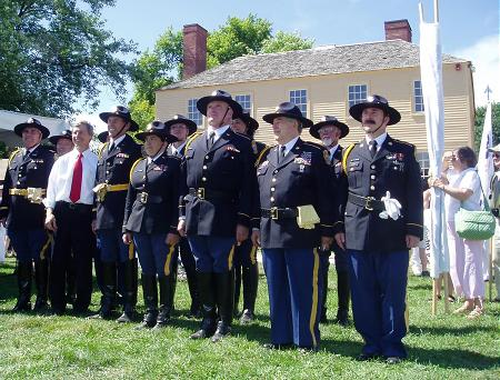 Gov Lynch with his NH Mounted Guard / SeacoastNH.com