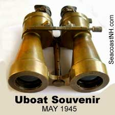German Uboat binoculars on SeacoastNH.com
