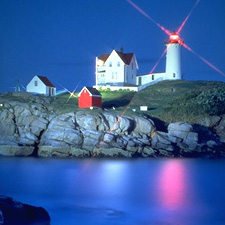 Nubble Light (c) Dan Gair