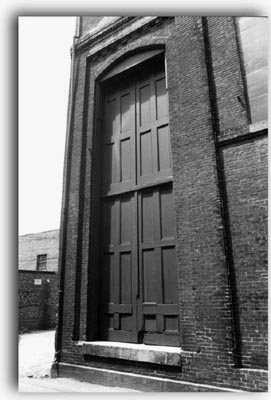 Back door Portsmouth Music Hall (c) David Petty