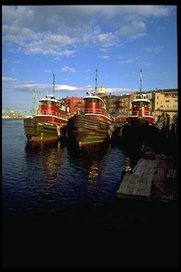 Ceres Street Tugboats (c) Ralph Morang