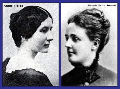 Annie Fields and Sarah Orne Jewett