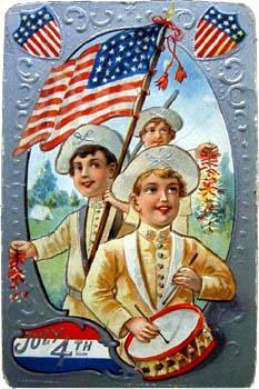 Patriotic Postcard with Kids / SeacoastNH.com