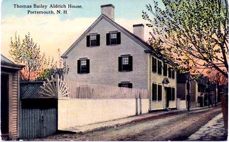 Thomas Bailey Aldrich House exterior / SeacoastNH.coom