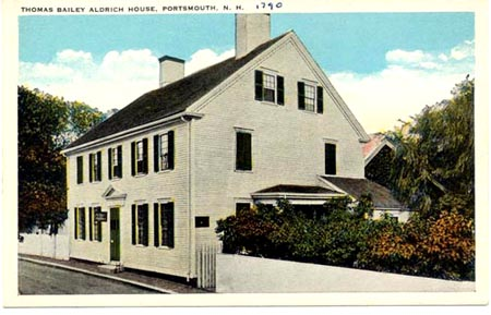 Thomas Mailey Aldrich House in Court Street / SeacoastNH.com