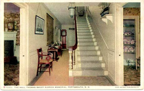 Front Hall Aldrich House / SeacoastNH.coom