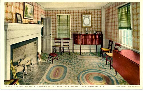Dining Room at Aldrich House / SeacoastNH.com