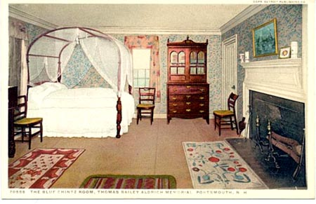 Blue Chintz Room at Bailey House Memorial/ SeacoastNH.com