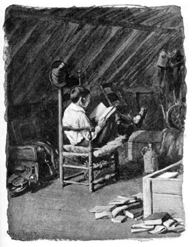 Bad Boy Tom Bailey in the attic Garrett / SeacoastNH.com