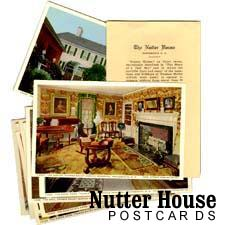 Grampa Nutter Postcards of the Thomas Bailey Aldrich House Museum in Portsmouth, NH / SeacoastNH.com