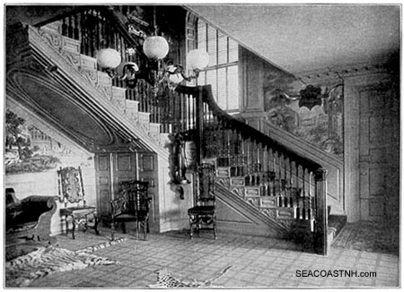 Inside the Moffatt-Ladd HOuse/ SeacoastNH.com