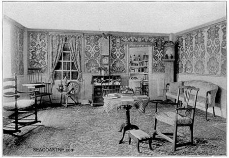 Colonial Revival interior of Benning Wentworth Mansion/ SeacoastNH.com