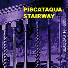 Portsmouth stairway treadle pattern/ SeacoastNH.com
