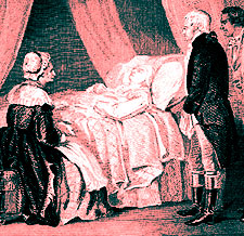 Washington Deathbed