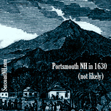 1847 Encyclopedia view of the Founding of NH / SeacoastNH.com Image Archive