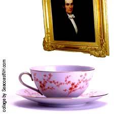 Tea with JW Whittier / SeacoastNH.com artwork