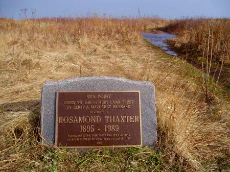 Memorial to Rosamond Thaxter