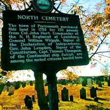 Portsmouth, NH Historic Cemeteries