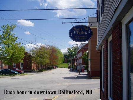 Downtown Rollinsford, NH