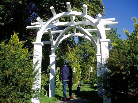 Hamilton House garden