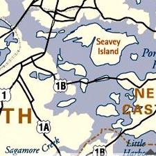 Piscataqua Maritime Map/SeacoastNH.com