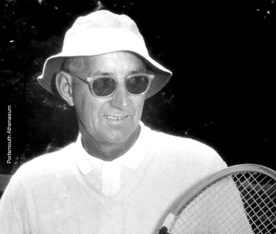 Tennis pro Wadleigh Woods worked all 34 summers.