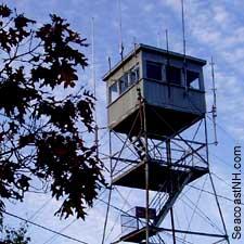 Blue Job Fire tower / SeacoastNH.com
